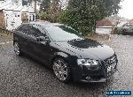 2010 [60] AUDI A3 S LINE BLACK EDITION 2.0 TFSI DAMAGED REPAIRABLE SALVAGE for Sale